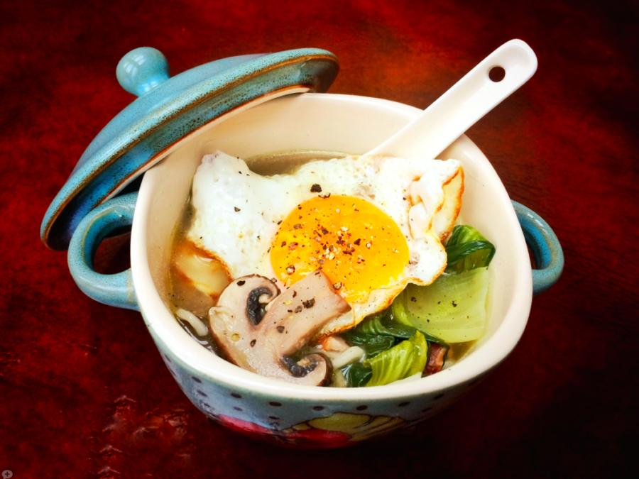 Leftover Makeover! Easy Ramen Bowl